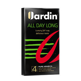 Кофе jardin all day long